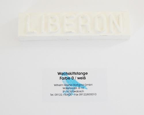 Liberon Wachskittstange Farbe 00 / weiß