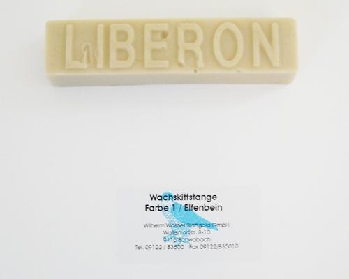 Liberon Wachskittstange Farbe 01 / Elfenbein