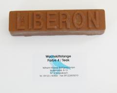 Liberon Wachskittstange Farbe 04 / Teak