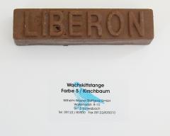 Liberon Wachskittstange Farbe 05 / Kirschbaum