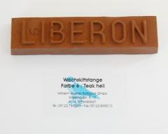 Liberon Wachskittstange Farbe 06 / Teak hell