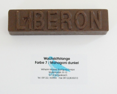 Liberon Wachskittstange Farbe 07 / Mahagoni dunkel