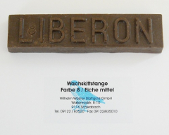 Liberon Wachskittstange Farbe 08 / Eiche mittel