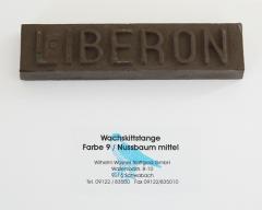 Liberon Wachskittstange Farbe 09 / Nussbaum mittel