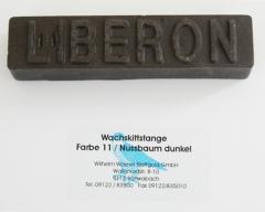 Liberon Wachskittstange Farbe 11 / Nussbaum dunkel