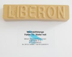 Liberon Wachskittstange Farbe 15 / Kiefer hell