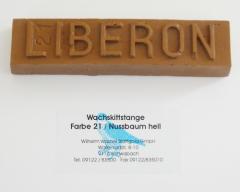 Liberon Wachskittstange Farbe 21 / Nussbaum hell