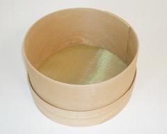 Kreidesieb aus Holz