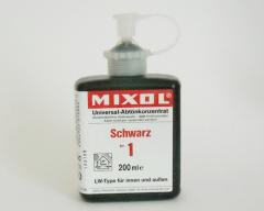 Mixol # 01 schwarz 200 ml